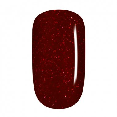 Color Gel - 30 Deep Red Glitter, fine
