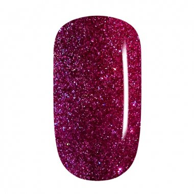Color Gel - 69 Dark Rose Multicolor Glitter, fine