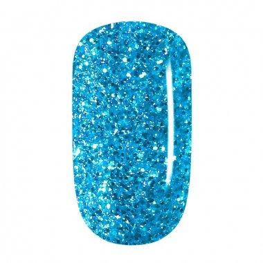 Color Gel - 71 Sky Blue Glitter, coarse