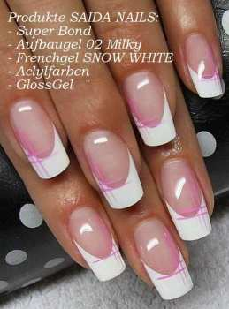 French Gel - SNOW WHITE, 5 ml