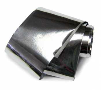 Nail Art Foil XXL 100cm - SILVER