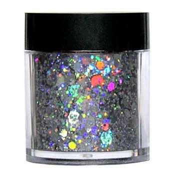 Laser Glitter Mix - SILVER