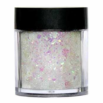 Laser Glitter Mix - WHITE
