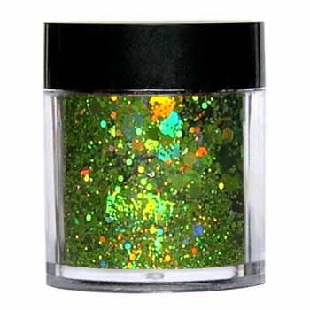Laser Glitter Mix - GREEN