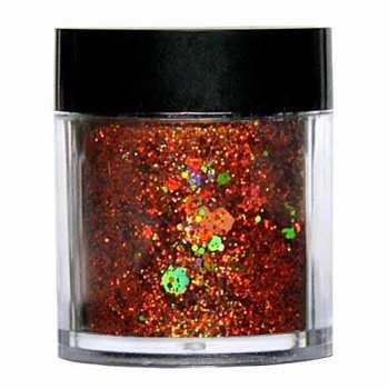 Laser Glitter Mix - KUPFER