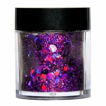 Laser Glitter Mix - LILA