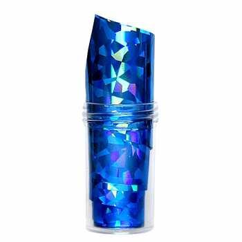 Nailart Folie XXL 100cm - LASER BLUE