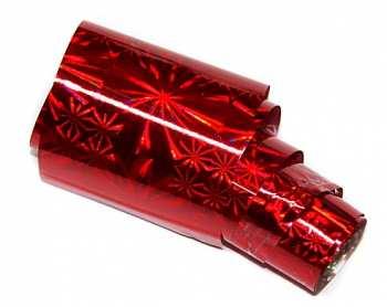 Nailart Folie XXL 100cm - RED STAR