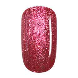 Color Gel - 90 Dark Antique Rose Glitter, fine