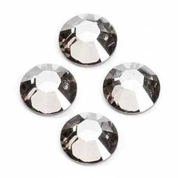 Steinchen SS8 / 2,4 mm, klar - 100 Stück