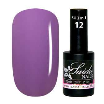Soak-Off Gel 2 in 1 - 12 Helllila