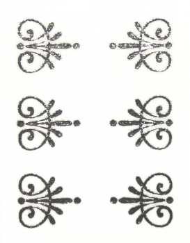 Metallic Sticker 23 Twirl, silver