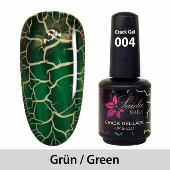 Crack-Gel-Lack - 004 Grün