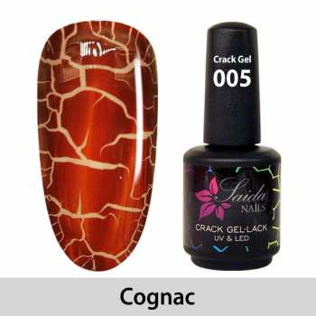 Crack Gel Polish - 005 Cognac