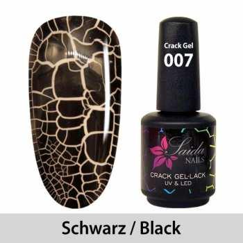 Crack-Gel-Lack - 007 Schwarz