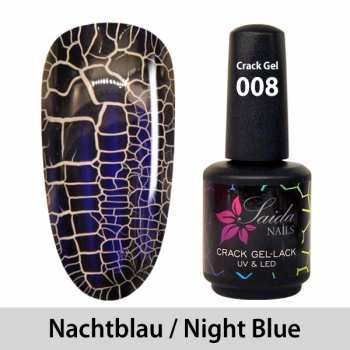 Crack Gel Polish - 008 Night Blue