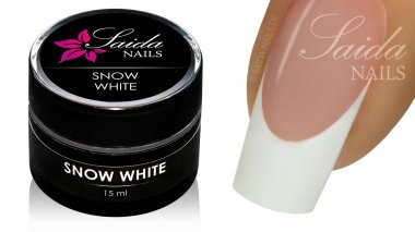French Gel - SNOW WHITE, 15 ml