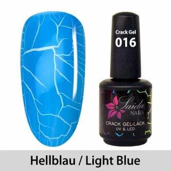 Crack-Gel-Lack - 016 Hellblau