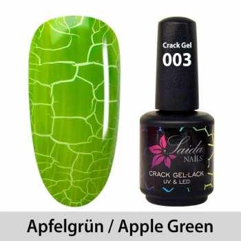 Crack-Gel-Lack - 003 Apfelgrün