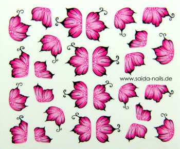 Sticker Pink Hibiscus