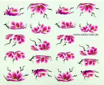 Sticker Pink Magnolia