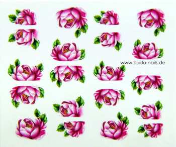 Sticker Pink Rose