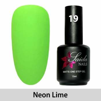 LED One Step Matte Gel 19 NEON LIME