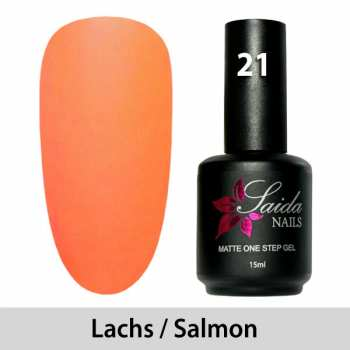 LED One Step Matte Gel 21 SALMON