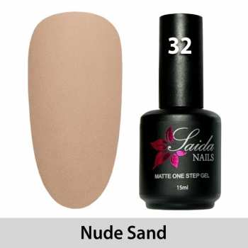 LED One Step Matte Gel 32 NUDE SAND