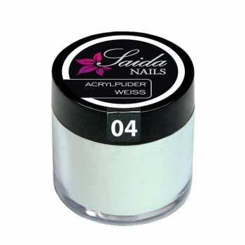 Acrylpuder 04 WEISS, 10 g