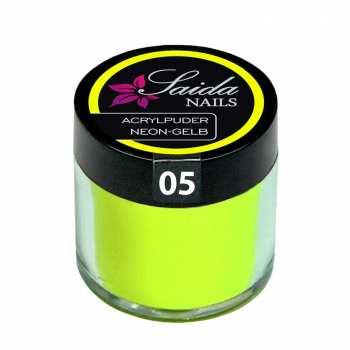 Acrylpuder 05 NEON-GELB, 10 g