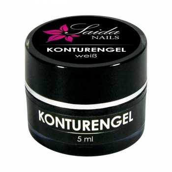 Konturengel WEISS, 5 ml