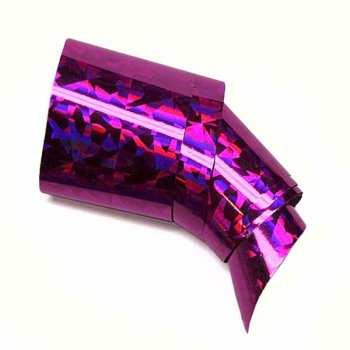 Nail Art Foil XXL 100cm - LASER PINK