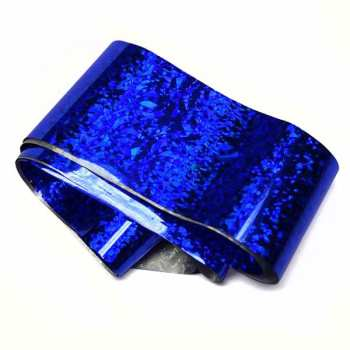 Nail Art Foil XXL 100cm - ROYAL BLUE CHIP
