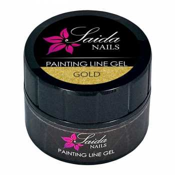 Painting Line Gel - gold