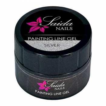 Painting Line Gel - silber
