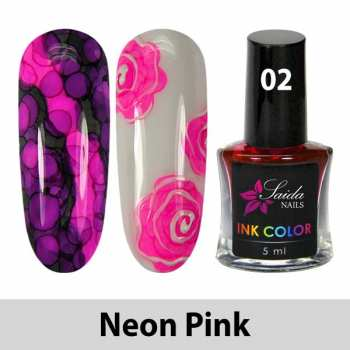 Ink Color - 02 Neon Pink