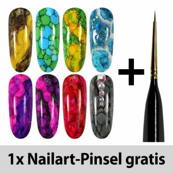 Ink Color - Sparset + 1 Nailart-Pinsel gratis