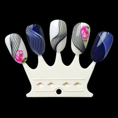 Nail Display Crown, 10 pcs.