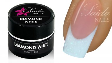 French Gel - DIAMOND WHITE, 5 ml