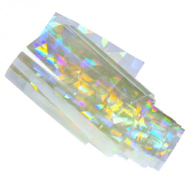 Nail Art Foil XXL 100cm - LASER CLEAR