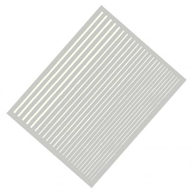 Flexible Stripes, white