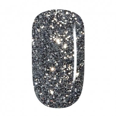 Color Gel - 15 Silver Glitter, coarse