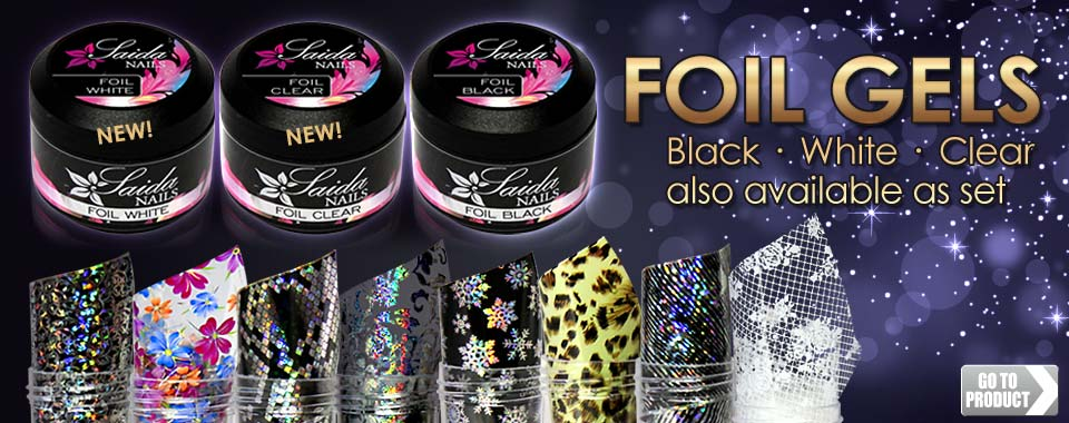 Saida nails gmbh professional nail design nail art trainings foil gels for nail design freerunsca Image collections